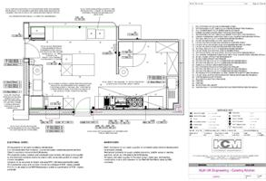 modern home design: Catering Kitchen Layout
