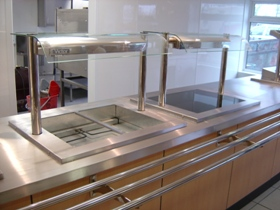 Foodservice Servery Counters